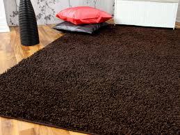 teppich wohnzimmer teppich braun