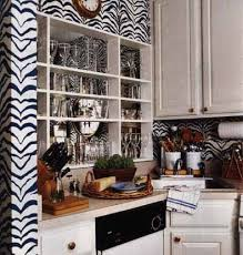 Zebra In The Kitchen Zebrine Wallpaper By Rose Cumming