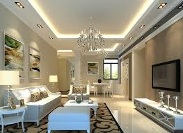 Download Trendy Ceiling Decorating Ideas For Living Dining Room With Flat Screen TV