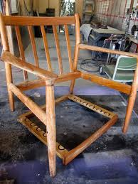 Wood Captains Chair Plans by How To Refinish A Vintage Midcentury Modern Chair Diy
