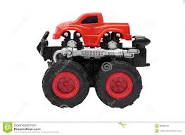 100 Bigfoot Monster Truck Toys Big Toy With Big Wheels Isolated On
