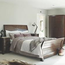 Winchester Dark Rustic Wooden Bed