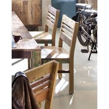 esszimmerstuhl malmö holz recycelt küchenstuhl essstuhl stuhl