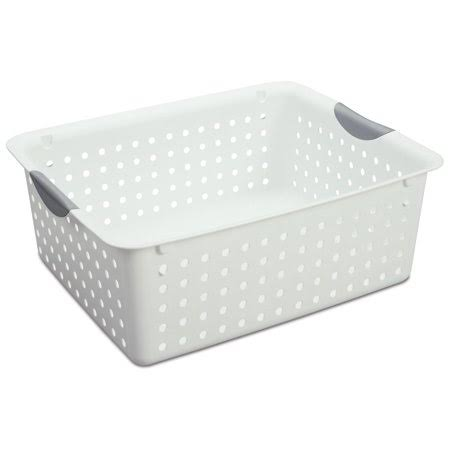 Sterilite Ultra Basket - Large, White