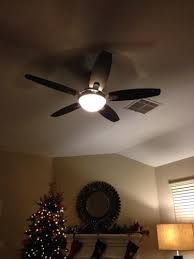 hunter contempo 52 in indoor brushed nickel ceiling fan with