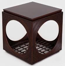casa padrino luxus mahagoni beistelltisch in würfelform dunkelbraun 50 x 50 x h 55 cm wohnzimmer möbel luxus qualität