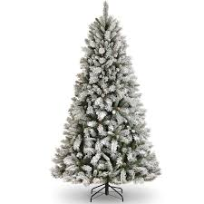 4ft Christmas Tree Sale by White Fake Christmas Trees 4ft Grand Flocked Artificial Christmas