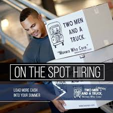 HIRING OPEN HOUSE! **Wednesday, June... - TWO MEN AND A TRUCK | Facebook Two Men And A Truck Interview Driver Youtube Movers In St Charles Mo Two Men And A Truck Ann Arbor Mi Core Values What They Mean To Us Top 10 Tips On Hiring Mover From Leading Tional Brand Louis Missauga Team Las Vegas South Nv Pelham Al Houston Northwest Tx Dmissouri