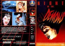 Wnuf Halloween Special Vhs by The Horrors Of Halloween Night Of The Demons Trilogy Vhs And Dvd