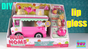 100 Nom Nom Food Truck Num S Lip Gloss DIY Make Your Own Toy Unboxing Series 2