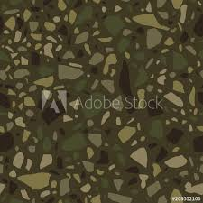 Terrazzo Flooring Seamless Pattern Polished Pebble Stone Tile Bright And Modern Abstract Background