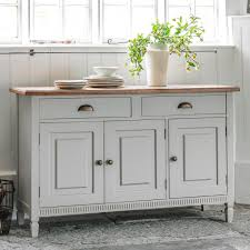 White Buffet Sideboard Cottage All Furniture Functional