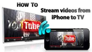 How to stream pair videos from iPhone to TV wireless