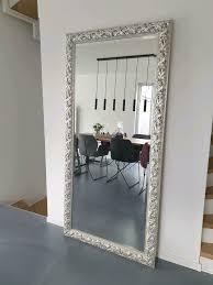 spiegel retro silber ca 193x92