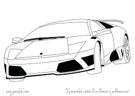 Coloring Pages Lamborghini Huracan Sheet Parent Directory Free