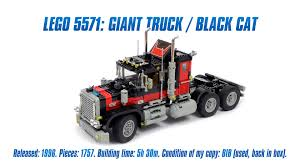 LEGO Classics: 'LEGO 5571 Model Team: Giant Truck / Black Cat' Speed ... Step By Step Tutorial Made With Lego Digital Designer Shows You How Lego Fire Truck Archives The Brothers Brick How To Build A Dump Custom Moc Itructions Youtube Yoshinys Design 31024 Alrnate Build Moc3961 Semi Truck Trailer Town 2015 Rebrickable To A Car And Where Turn For Help Crazy Zipper Snaps Legolike Bricks Together Delivery 3221 City Review 60073 Service Jays Blog 015 Building Classic Diy