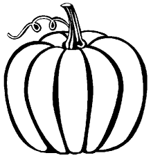 Pumpkin Printable Coloring Pages Fall