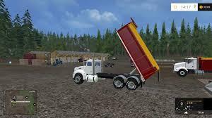 PETERBILT 384 DUMP BED TRUCK V1 REVISION 1 - Farming Simulator 2019 ...