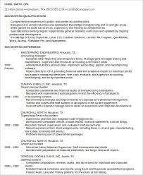 Staff Public Accountant Resume Example
