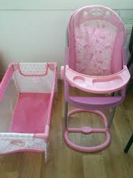Dolls High Chair & Travel Cot | In Currie, Edinburgh | Gumtree 10 Best High Chairs Reviews Net Parents Baby Dolls Of 2019 Vintage Chair Wood Appleton Nice 26t For Kids And Store Crate Barrel Portaplay Convertible Activity Center Forest Friends Doll Swing Gift Set 4in1 For Forup To 18 Transforms Into Baby Doll High Chair Pram In Wa7 Runcorn 1000 Little Tikes Pink Child Size 24 Hot Sale Fleece Poncho Non Toxic Toys Natural Organic Guide