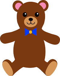 Clipart Of Two Baby Bears And A Mamma Bear