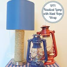 Touch Lamps At Walmart by Diy Nautical Lamp Knockoff Using A Sisal Wrap The