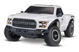 100 Rc Ford Truck 2017 Raptor 110 Scale 2WD RTR White RC Maxxed