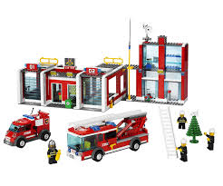 Amazon.com: LEGO City Fire Station (7208): Toys & Games Lego City Itructions For 60002 Fire Truck Youtube Itructions 7239 Book 1 2016 Lego Ladder 60107 2012 Brickset Set Guide And Database Chambre Enfant Notice Cstruction Lego Deluxe Train Set Moc Building Classic Legocom Us New Anleitung Sammlung Spielzeug Galerie Wilko Blox Engine Medium 6477 Firefighters Lift Parts Inventory Traffic For Pickup Tow 60081