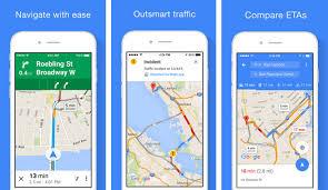Google Maps app s spoken traffic alerts