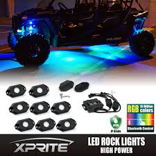 Xprite 8PC RGB LED Multi-Color Offroad Rock Lights Wireless ... Lighting For Trucks Democraciaejustica Led Light Bars Canton Akron Ohio Jeep Off Road Lights Truck Cap World Tas Automotive Vision X Lights Xprite 8pc Rgb Multicolor Offroad Rock Wireless Sportbikelites New Light Up Rims And Wheels For Truck Cars 48 Blue 8 Module Exterior Bed Genssi Are Bed Lighting Those Who Work From Dawn To Dusk Led Home Design Ideas Bar Supply Fire Lightbars Sirens Kids Ride On With Remote Control And Music Red