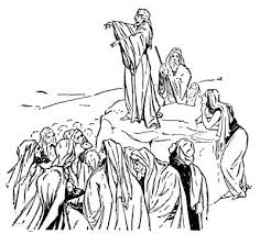 Jesus Sermon On The Mount Clip Art