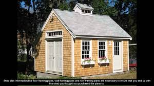 12x24 Shed Floor Plans by 20 X 20 Shed Plans Youtube