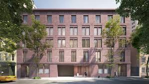 100 West Village Residences Frontview1119JaneStreetbyDavidChipperfield Brick Facade