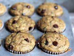 Vegan Pumpkin Muffins No Oil by Skinny Zucchini Banana Chocolate Chip Muffins Ambitious Kitchen