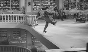 the roller skating from chaplin s modern times the