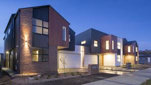 100 Contemporary Townhouse Design S Throsby VisCon Homes DNA Architects Modern