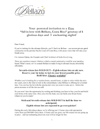 100 Kalia Living Bellazo Invitation Letter Pages 1 4 Text Version FlipHTML5