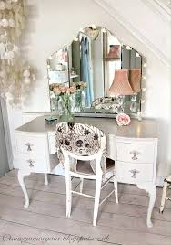vanities painted cottage chic shabby silver slipper romantic