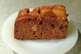 schoko apfelkuchen mit zimt
