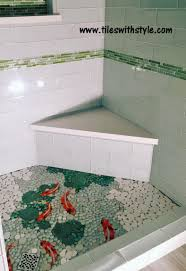 fish pond tiles tile design ideas