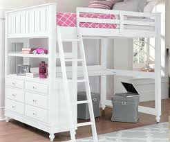 Low Loft Bed With Desk And Dresser twin loft beds with desk grey kids furniture set with twin loft