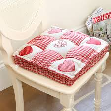 Shabby Chic Dining Room Chair Cushions by Large Shabby Chic Seat Pads