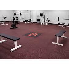 Flooring Gym Flooring Home Gym Flooring Over Carpet Fitness Room