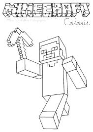 Imagens De Minecraft Para Imprimir E Pintar