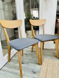 stühle massivholz midcentury design esszimmer küche