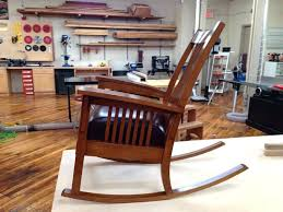 mission style rocking chairs stickley mission style rocking chair