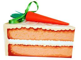 Carrot cake drawing