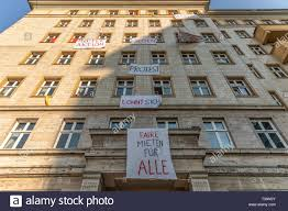100 Apartments For Sale Berlin April 6 2019 Germany Tenants Protest The Sale