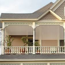 Roll Up Patio Shades Bamboo by Exterior Roll Up Shades Lowes Coolaroo Mocha Light Filtering Pvc