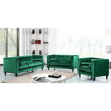 Green Velvet Sofa Pillos Walmart Cover Ikea Uk